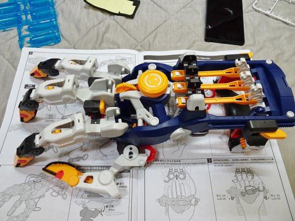Pro's Kit 科學玩具:液壓機械手套 Part 2